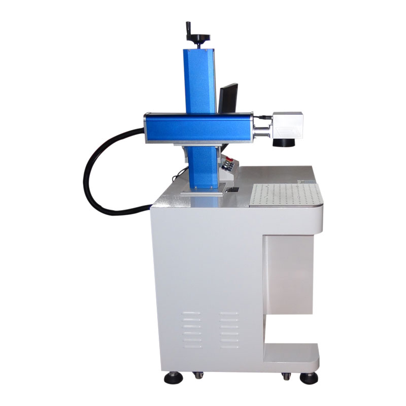 shenhui 20w 30w 50w Raycus fiber laser marking machine for metal