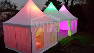 Kenten 4x4m pagoda with light