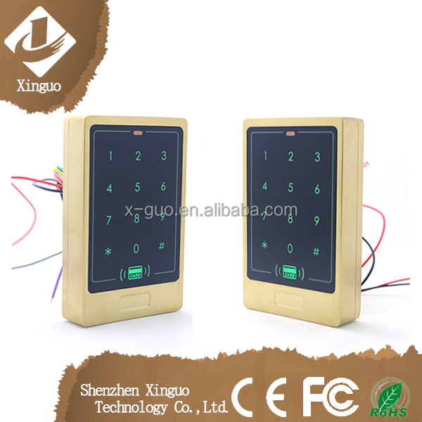 smart security access control rfid system with keypad, home security system wireless