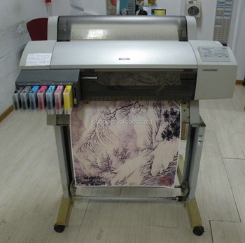 Used Large Format A1 Sublimation Printer 7600 for Mug, Tshirt Heat Transfer Printing Machine
