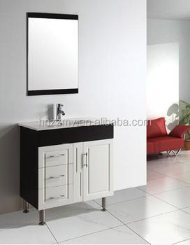 Most Economical Bathroom Pvc Cabinet Floor Mounted Vanity For India - Bathroom vanities floor mounted