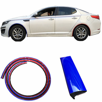 Car Wheel Arch Trim Fender Flare Wheel Eyebrow Protector Sticker Strip