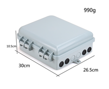 FTTH Fiber Optic Distribution Box ip65 16 cores outdoor indoor outside outdoor waterproof
