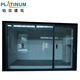 Gold Supplier Aluminium Frame Sliding Door For Kitchen Entrance