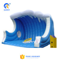 Stimulating inflatable party entertainment surf simulator,inflatable mechanical surf simulator,inflatable interactive game