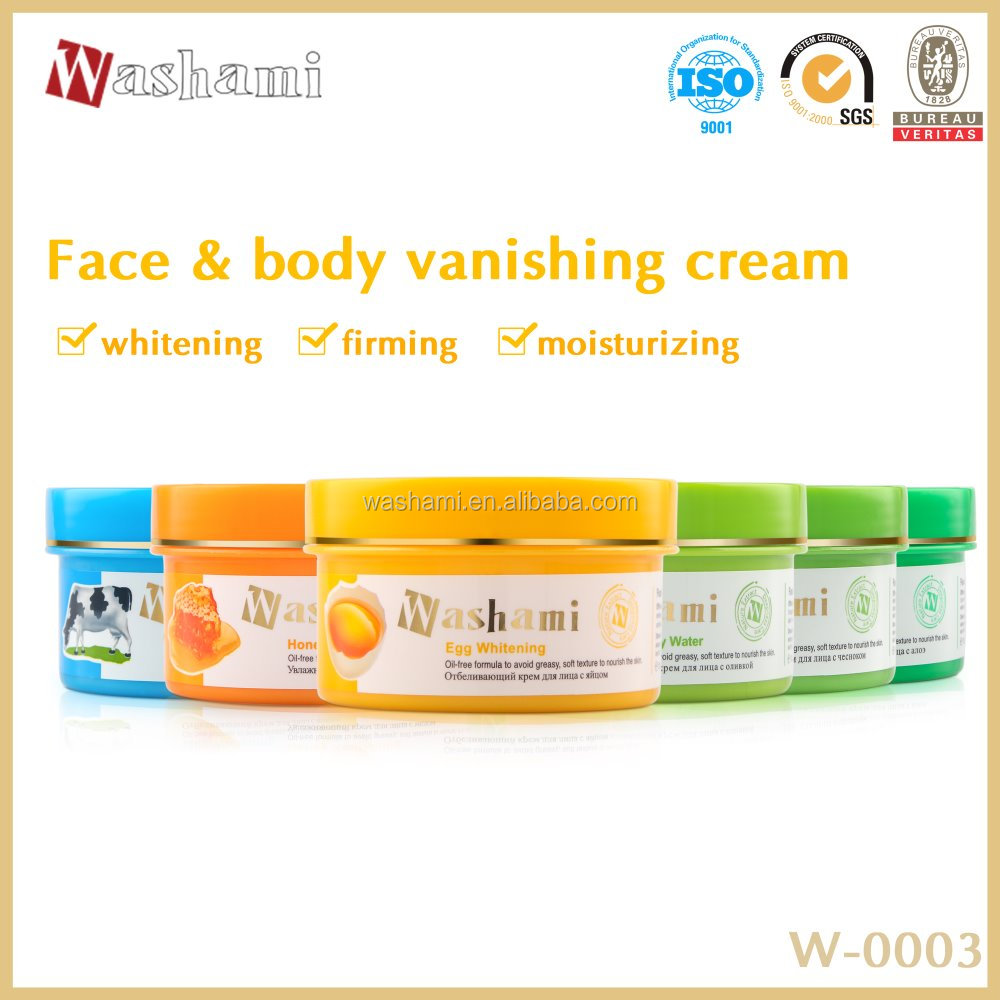 Best selling Washami beauty face&body cream for skin care