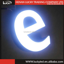 High quality LED epoxy resin beautiful alphabet letters
