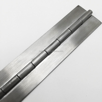 Stainless steel 304 customized continuous row piano hinge