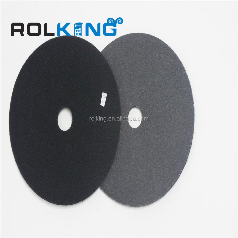 80-800 Grit 225mm Round Sanding Sandpaper Polishing Pads Abrasive Grinding Tool