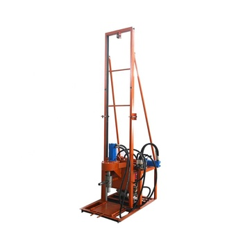 China brand hydraulic lifting 100m depth water well drill rig