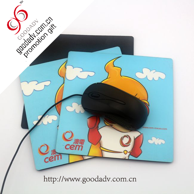 Factory directly sale Advertising gifts cute cartoon eva computer mouse pad