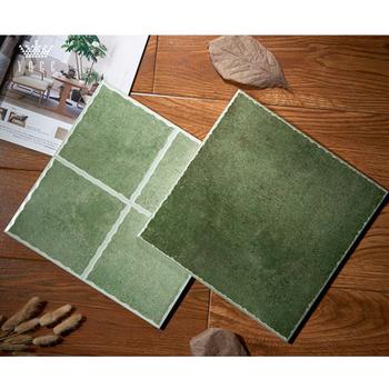 Yocr 96 Green Rustic Matt Finish Ceramic Wall Tiles For Kitchen Or Bathroom