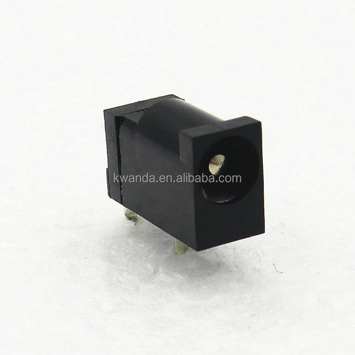 through hole mini female dc power jack 3 pin for tablet