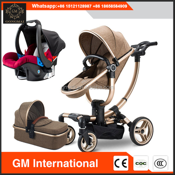 Modern Design 3 In 1 Stroller Baby Pram Car Seat With Quality Assurance
