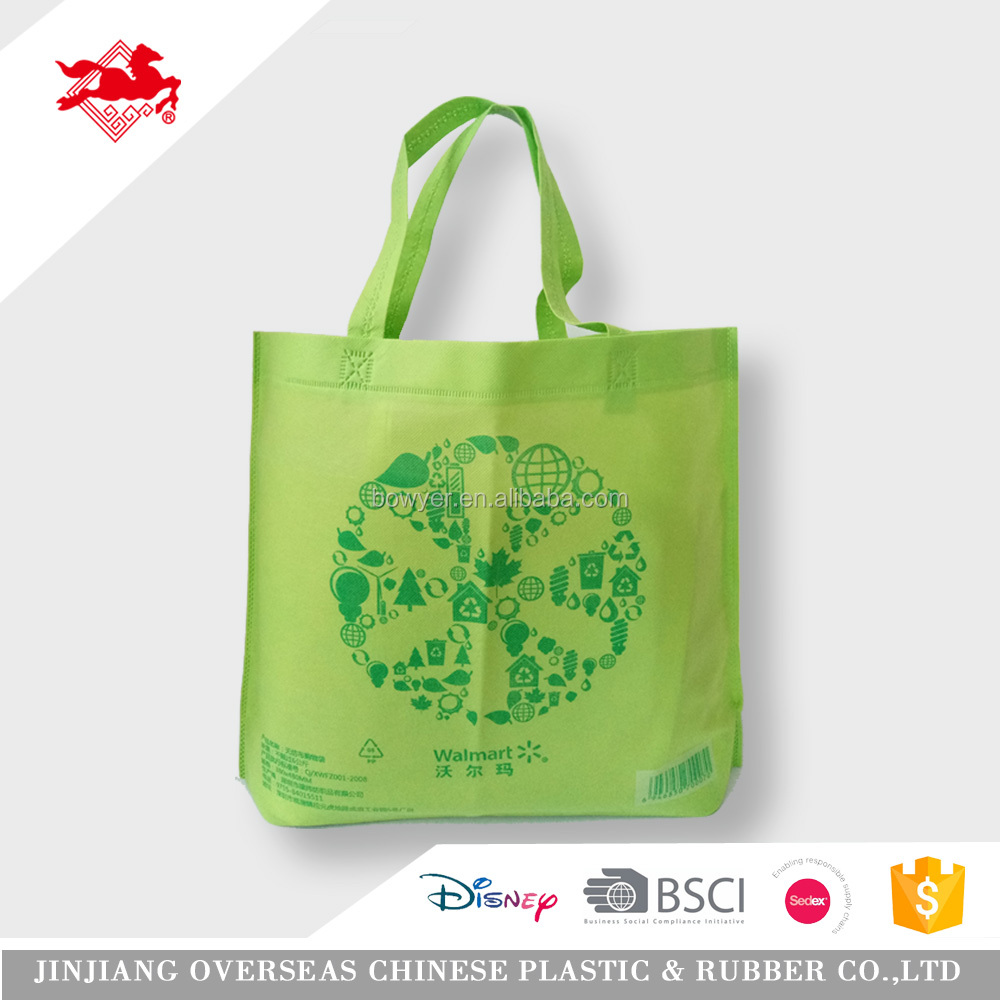 Promotional cheap laminated pp woven bag