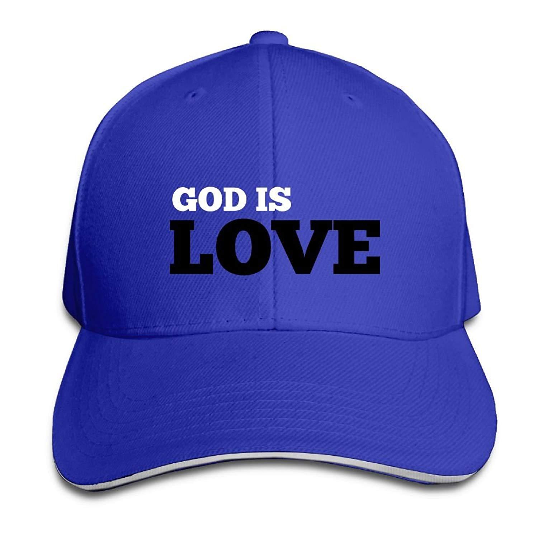 42a9f7078c1 Get Quotations · Efbj Baseball Cap Hip Hop Hat 100% Cotton Sports  Adjustable Casquette Cap Unisex God is