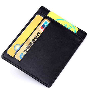685cf79348a Mens Card Holder Wallet RFID Blocking Leather Extra Slim Wallet ...