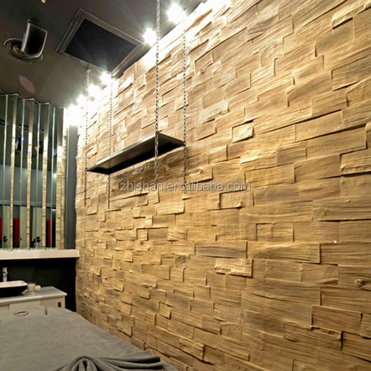Faux Stone Decorative 3d Wall Panels Artificial Thermal Insulation ...
