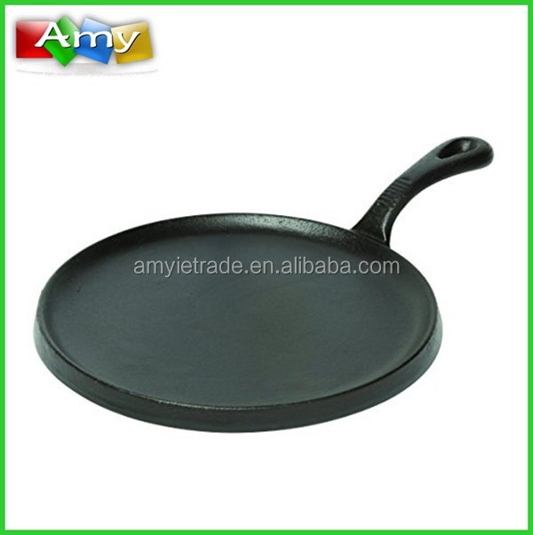 Mexican Tortilla Cast Iron Round Griddle
