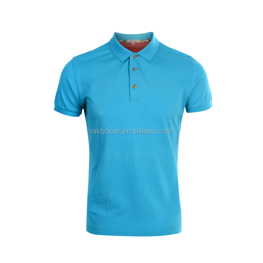 mens sport clothing 100% fine cotton polo t shirt