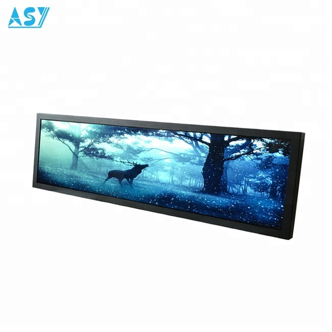 1920*540 Stretched LCD HD Supermarket Shelf <strong>Advertising</strong>