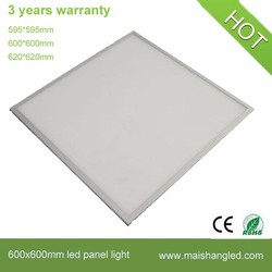 China wholesale office square LED panel light 600*600 36w 40w 48w ultra thin led panel 60x60