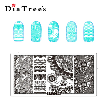 Diy Diatrees Spv Stainless Metal Nail Stamping Plate Gang Nail Art