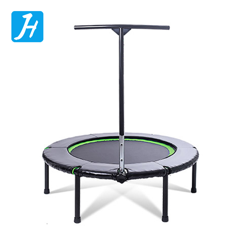 48inch Mini Bungee Trampoline rebounder with handle and protecting pad