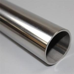 Hairline 316 stainless steel round tube