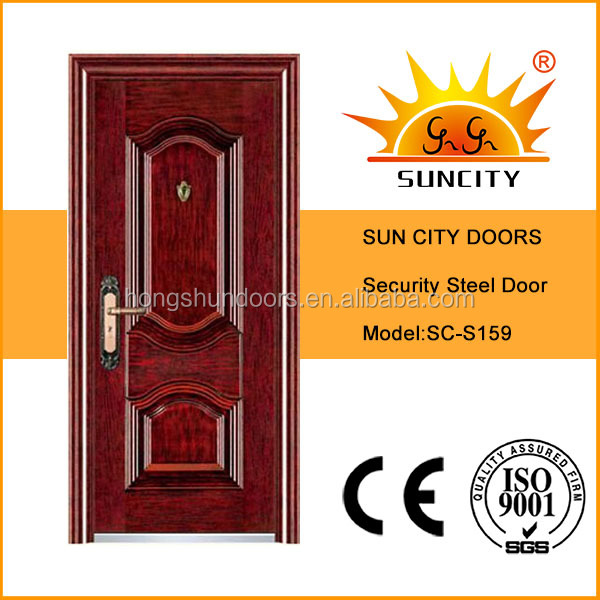 SC-S159 factory directly manufacturing front entrance iron door designs