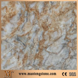 Dubai Gold Deluxe Chinese Golden marble gold vein marble