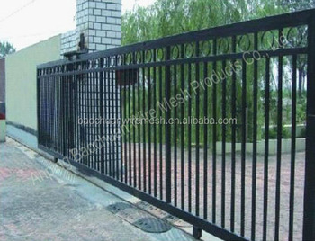 High quality wireleshh control sliding iron gates models