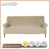 Traditional Tufted Sofa furntiure Upholstery Linen Fabric Sofa