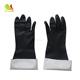 Black high quality neoprene chemical resistant industrial work gloves