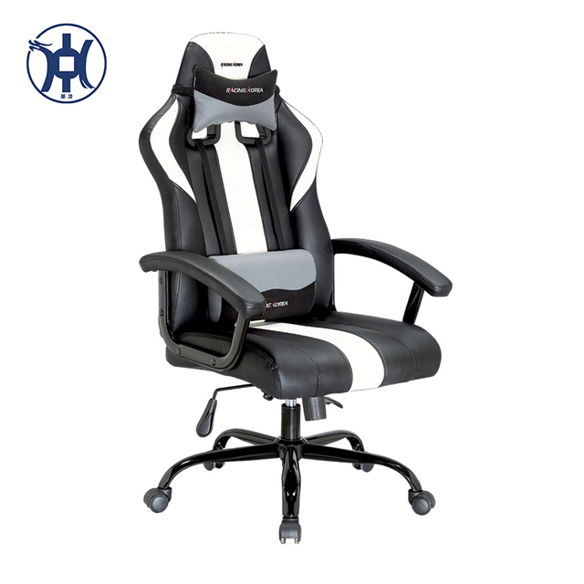 cheap modern swivel wood gaming chair with nylon base