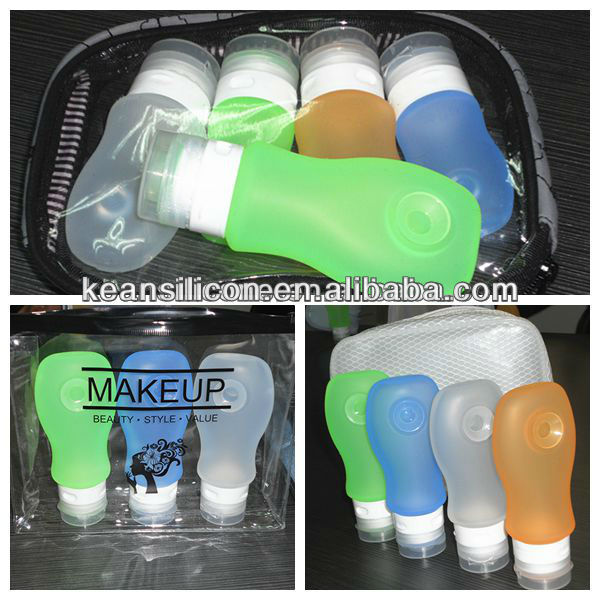 Camping Accessories/Smart Cosmetic Container Carry-on Smart Squeeze Travel Shampoo Soap Bottle Camping Accessories