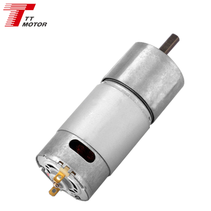 30Nm 160rpm stepless cw+ccw Geared electric motor 12V DC gearbox motor max
