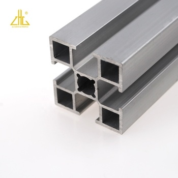 6063 6061 Slotted Aluminum Profile 2020 T-slot Extrusion Industrial Alloy Pipeline Profile With Anodized Powder Coating