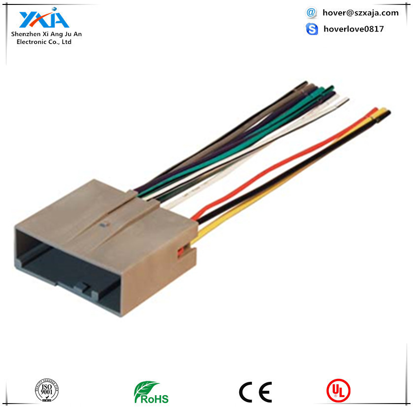 5 pin molex connector, 5 pin molex connector suppliers and Audio Wire Adapters  Wiring Harness Radio Speaker Wire Adapter Kit Aftermarket Car Stereo Wiring Harness