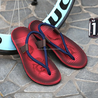 2017 wholesale high quality cheap price promotional men's casual custom flip flops