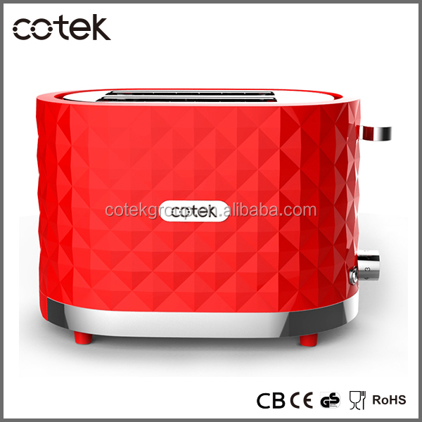 China Supplier 1000 Watts 2 Slice Toaster With Defrost Reheat ...