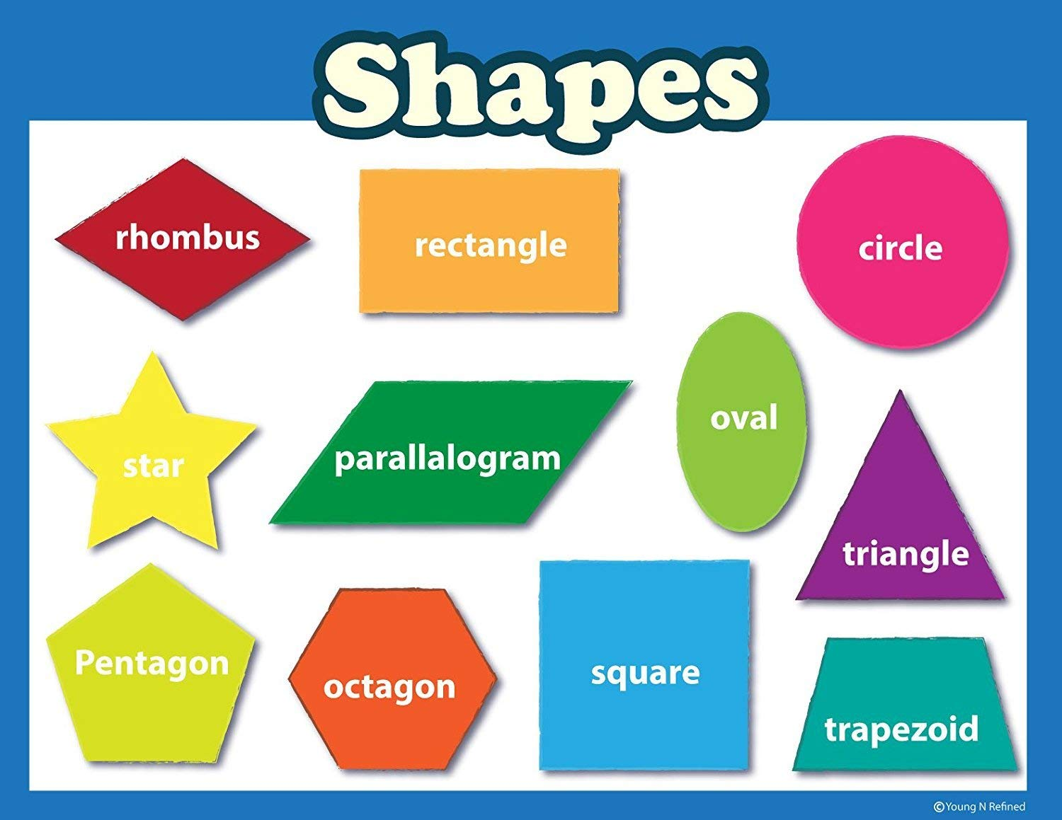 Cheap Shapes Poster Printable, Find Shapes Poster