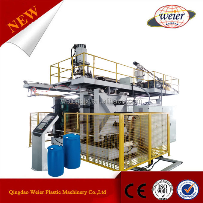 55 gallon plastic drum poly water tank blowing mold making machine