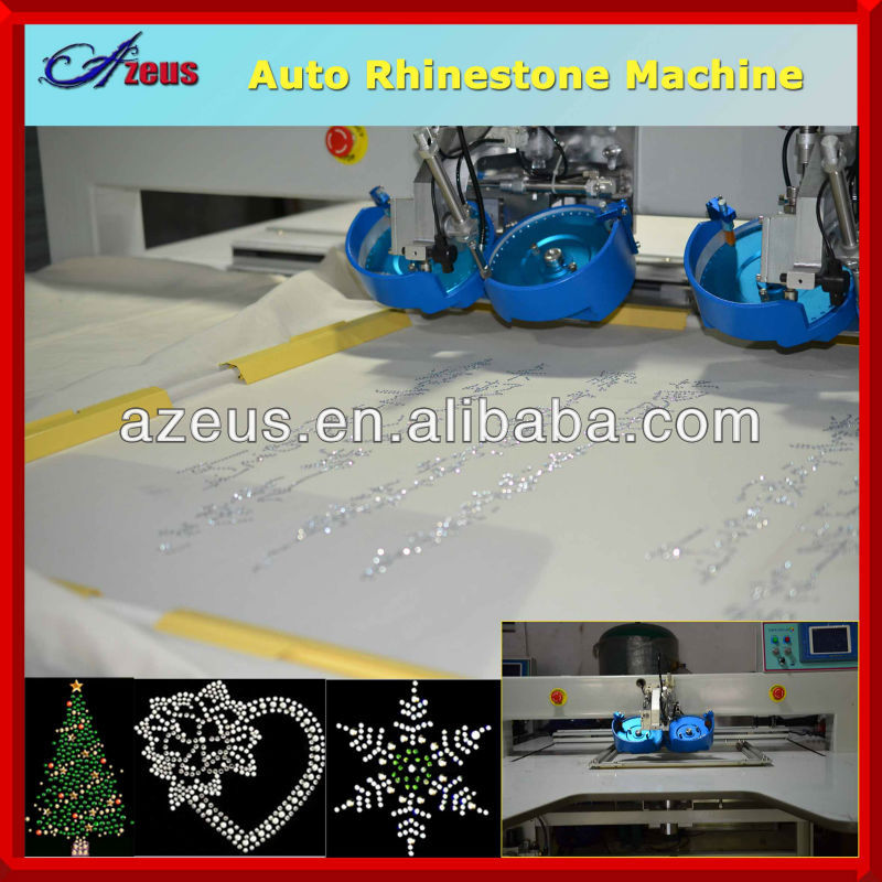 Apparel Machinery auto rhinestone setting machine