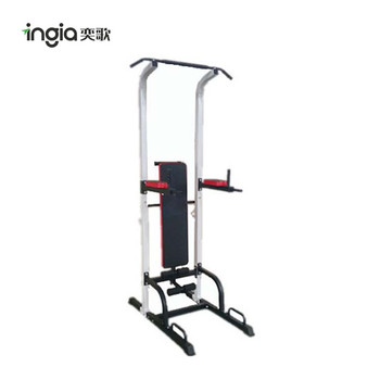 Multi Function Door Gym Equipment Power Tower With Sit Up Bench