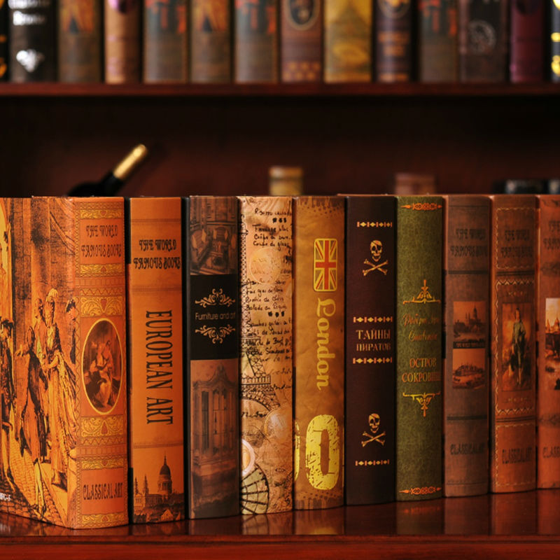 Popular Fake Books For Decoration Buy Cheap Fake Books For