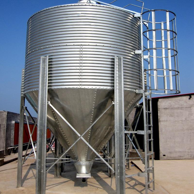 Small Grain Wheat Corn Silos Used For Small Farm