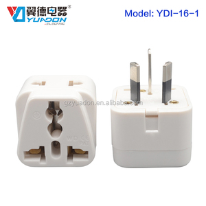 EU AU UK To US Canada Travel AC Power Socket Plug Adapter Adaptor Converter Electrical Plugs