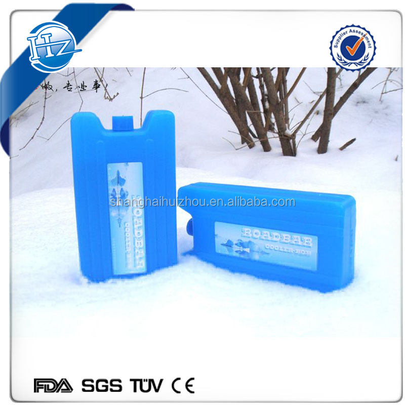 High quality camping freezer Super thin slim cold pack gel cooler box ice box for camping