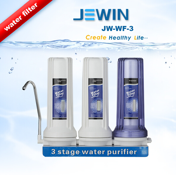 3 stage ro water purifier with one faucet